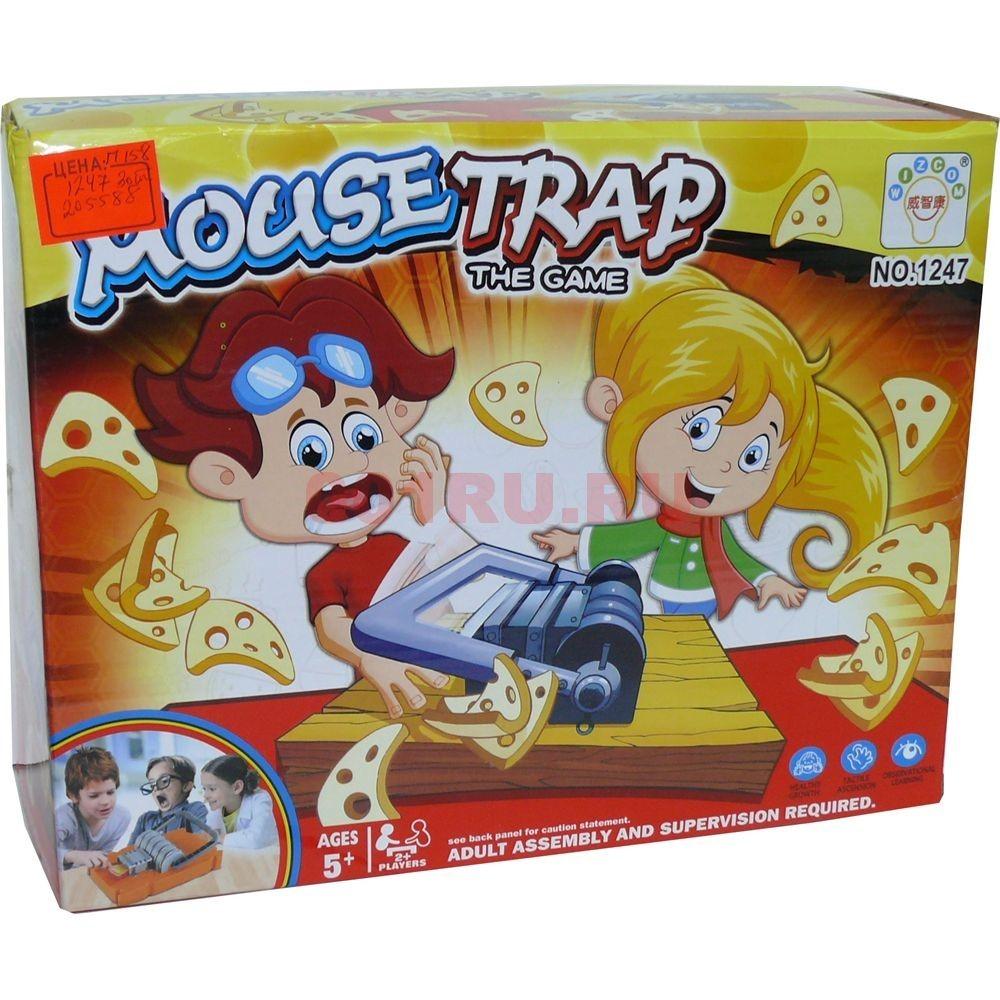 Игра настольная Mouse Trap (1247) - фото 115515