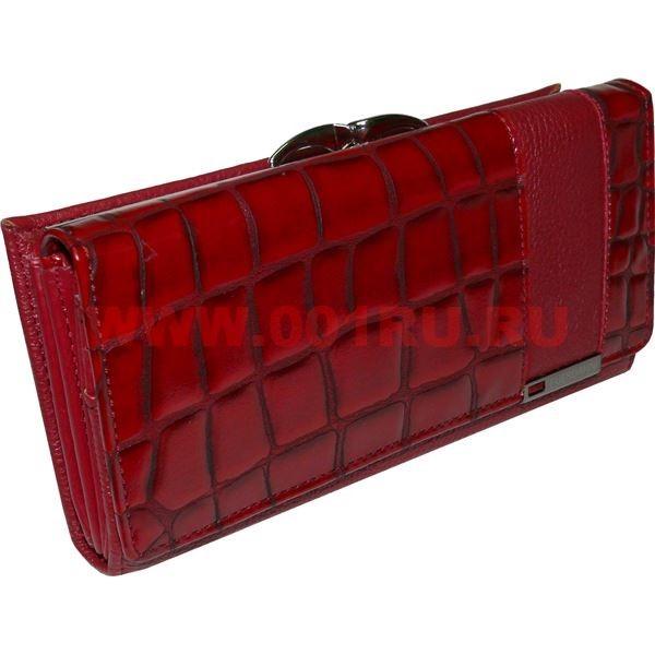 638a60d46c07 Кошелек женский (C-593) красный купить оптом в Москве