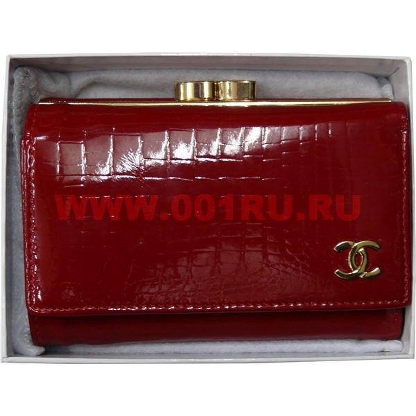 7dbbe31725a2 Кошелек женский Chanel средний красный купить оптом в Москве