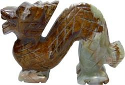 Дракон из оникса 6,7 см (4 дюйма) - фото 109687