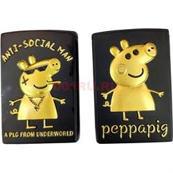 Зажигалка Свинка Peppa pig газовая символ 2019 года - фото 125087