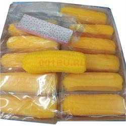 Игрушка мягкая «кукуруза» силиконовая 12 шт/уп - фото 126318