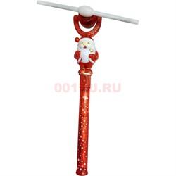 Игрушка крутящаяся Дед Мороз с музыкой - фото 126557
