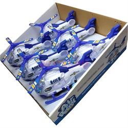 Вертолет игрушка иннерционный 6 шт/уп - фото 128705
