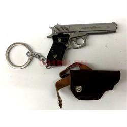 Брелок пистолет TT Cross Fire металлический - фото 129608
