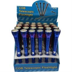 Телескопический фонарик 24 шт/уп (NF-T96) - фото 129674