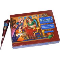 Хна коричневая Kaveri цена за уп из 12 шт - фото 132066
