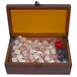 Лото деревянное в подарочной коробке - фото 133630