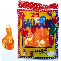 Шарик Magic Globes 12 дюймов «оранжевые» 25 шт - фото 134660