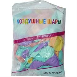 Шарик Воздушные шары 30 см 12 дюймов «пастельные цвета» - фото 134672