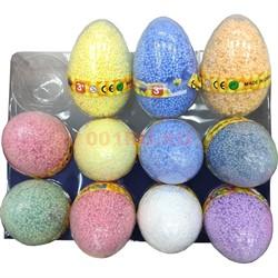 Шариковый пластилин в яйце 11x7 см 12 шт/уп - фото 134886