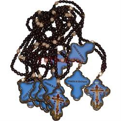 Четки с крестом «спаси и сохрани» 50 шт/уп - фото 134906