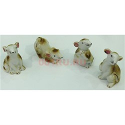 Символ 2020 года «Крысы» набор 5 шт - фото 135644