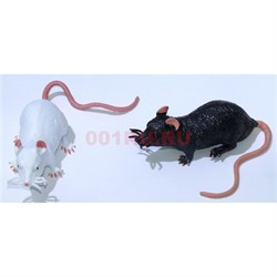 Игрушка резиновая «Крыса» 48 шт/уп - фото 135754