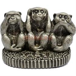 3 обезьяны фигурка «не вижу, не слышу, не скажу» - фото 143919