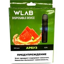 WLAB 300 затяжек Арбуз одноразовый испаритель - фото 148880