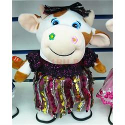 Музыкальная мягкая игрушка (AZ-3067) Корова Символ 2021 года - фото 155865