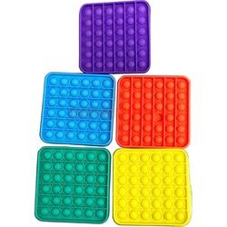 Антистрессовая игрушка Pop It квадратная - фото 167682