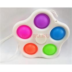 Игрушка попит pop it spinner 5 пупырок - фото 170163