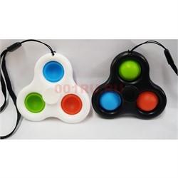 Игрушка попит pop it spinner 3 пупырки - фото 170167