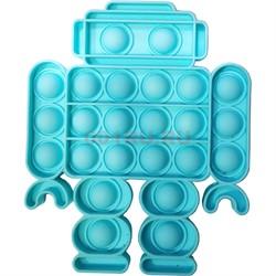 Пупырка антистресс «робот» цветной - фото 170183