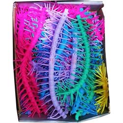 Браслет силиконовый игрушка антистресс «сороконожка» 30 шт/уп - фото 176214