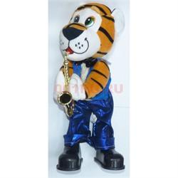 Фигурка музыкальная с песнями Тигр символ 2022 года - фото 177968