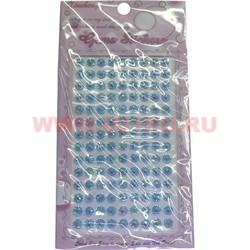 "Стразы ""Crystal"" цвет голубой, цена за 12 шт/уп - фото 45734"