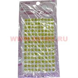 """Стразы """"Crystal"""" цвет желтый, цена за 12 шт/уп - фото 45747"""