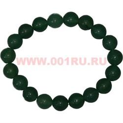 Браслет из нефрита 10 мм (натуральный камень) - фото 45868