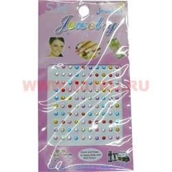 """Стразы для ногтей """"Jewelry"""" микс цветов, цена за 12 шт/уп - фото 45907"""