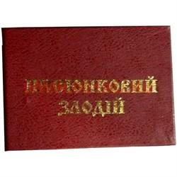 """Прикол """"Удостоверение писюнковый злодий"""" - фото 46062"""
