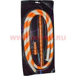 Шланг для кальяна SBD Hookah оранжевый силиконовый - фото 46228