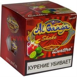 """Табак для кальяна оптом Al Ganga Shake 50 гр """"Quattro"""" (с акцизной маркой) - фото 46345"""