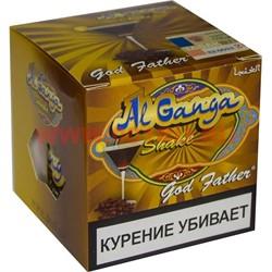 """Табак для кальяна оптом Al Ganga Shake 50 гр """"God Father"""" (с акцизной маркой) - фото 46371"""
