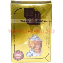 "Табак для кальяна Al-Waha Gold 50 гр ""Ice Tea"" (ледяной чай альваха голд Иордания) - фото 46376"