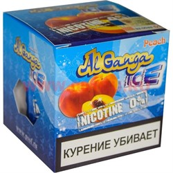 """Табак для кальяна оптом Al Ganga Ice 40 гр """"Peach"""" (без никотина) - фото 46378"""