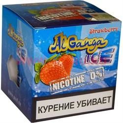 """Табак для кальяна оптом Al Ganga Ice 40 гр """"Strawberry"""" (без никотина) - фото 46395"""