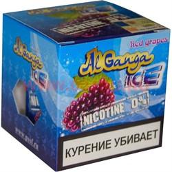 """Табак для кальяна оптом Al Ganga Ice 40 гр """"Red Grapes"""" (без никотина) - фото 46407"""