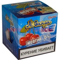 """Табак для кальяна оптом Al Ganga Ice 40 гр """"Cherry"""" (без никотина) - фото 46420"""