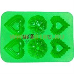 Форма для выпечки и заморозки (2168) силиконовая 22,5х32,5 цена за 80 шт, цвета в ассортименте - фото 46429