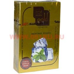 "Табак для кальяна Al-Waha Gold 50 гр ""Menthol Fusion"" (аль ваха голд Иордания) - фото 46466"