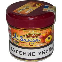 """Табак для кальяна оптом Al Ganga 50 гр """"Персик"""" (с акцизной маркой) - фото 46488"""