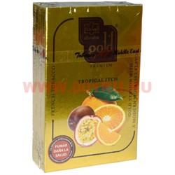 """Табак для кальяна Al-Waha Gold 50 гр """"Tropical Itch"""" (аль ваха голд Иордания тропическая лихорадка) - фото 46506"""