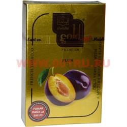 "Табак для кальяна Al-Waha Gold 50 гр ""Plum"" (слива аль-ваха голд Иордания) - фото 46524"