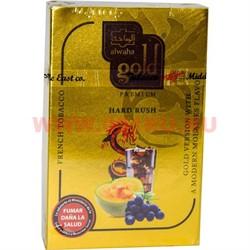 "Табак для кальяна Al-Waha Gold 50 гр ""Hard Rush"" (фрукты с мятой альваха голд Иордания) - фото 46577"