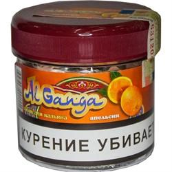 """Табак для кальяна оптом Al Ganga 50 гр """"Апельсин"""" (с акцизной маркой) - фото 46585"""