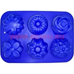 Форма для выпечки и заморозки (2169) силиконовая 22х31 цена за 80 шт, цвета в ассортименте - фото 46595