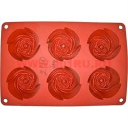Форма для выпечки и заморозки (2110) силиконовая 17,5х26 цена за 144 шт, цвета в ассортименте - фото 46630