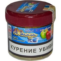 """Табак для кальяна оптом Al Ganga Ice 40 гр """"Два Яблока"""" (с акцизной маркой) - фото 46633"""